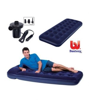 inflatable-single-bed-with-electric-pump